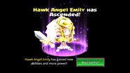 Hawk Angel Emily unascended