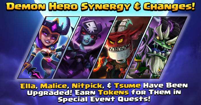 Demon Hero Synergy and Changes