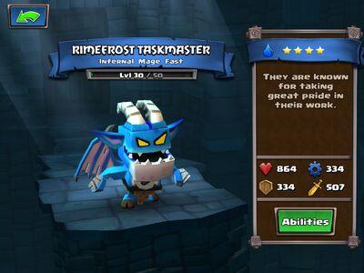 Rimefrost Taskmaster