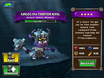 Gagos the Traitor King