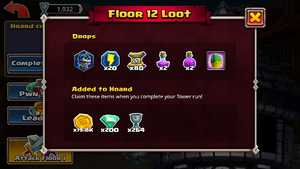 Tower of pwnage floor 12 drops