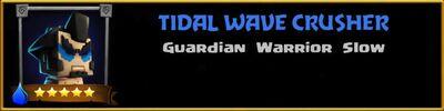 Profile Tidal Wave Crusher