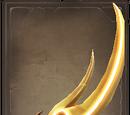 Fiery Talon Kopesh
