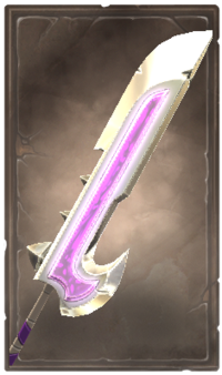 Fiendpit glaive