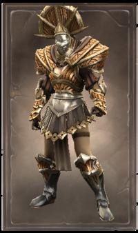 Gleaming holarin armor