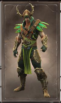 Wyvernskin armor