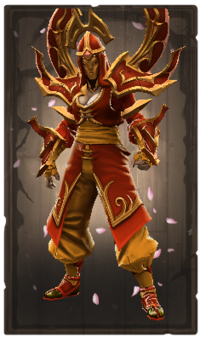 Greatwing fire ruby mantle