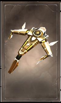 Angelic crossbow