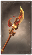 Volcanic glaive