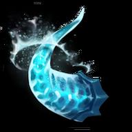 Azure demon horn