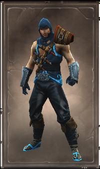 Inksliver armor