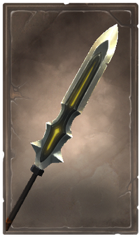 Soulcall glaive