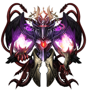Crosselle the Demon God detailed