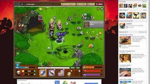 Dungeon Rampage Legion - Dragon Knight Level 100