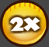 X2 Coins Booster 500%
