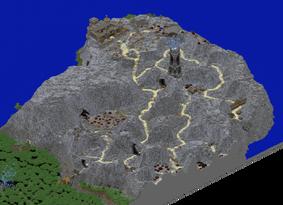 Jagged Rocks Map
