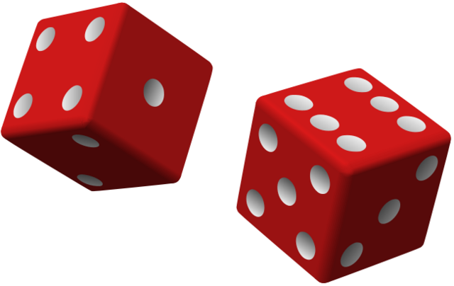 File:Two red dice.png