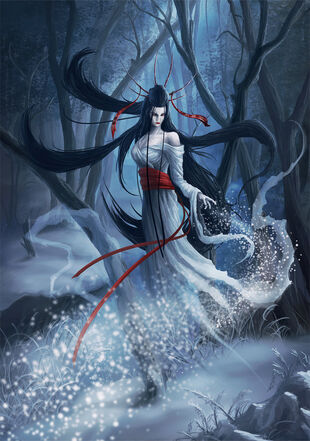 Yuki onna the snow spirit by takeda11-d3iivrk