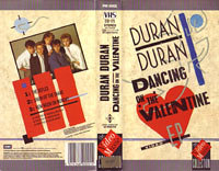 K 10 dancing on the valentine VHS · THE VIDEO MUSIC COLLECTION · UK · PM0001 duran duran wikipedia