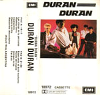 4 duran duran 1981 album EMI · ARGENTINA · 18972 cassette discography discogs wikipedia lyrics website