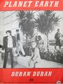 Planet earth sheet music book duran duran 1981 rare
