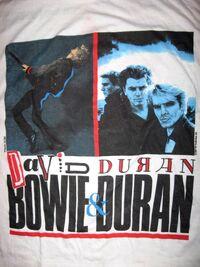 Bowie duran 1987 t shirt