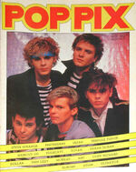Pop Pix No.4 wikipedia magazine Japan,Steve Strange,Tenpole Tudor,Haircut 100,Toyah,Duran Duran,