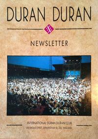 Duran duran fan club newsletter 273 broad street birmingham wikipedia