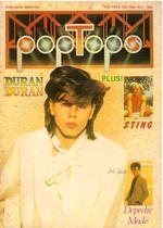 Pop tops magazine duran duran