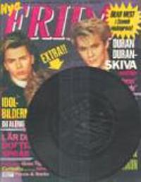 Frida magazine 1987 duran duran