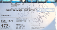 Ticket duran duran the devils germany