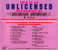 UNLICENSED RECORDING duran duran