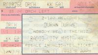Duran Duran concert ticket jan 11 94