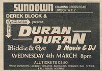 Sundown london duran duran