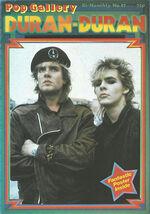 Pop gallery magazine duran duran wikipedia MAY 1984