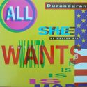 28 all she wants is us master mix uk single 12 DDX 11 duran duran discography discogs wikipedia