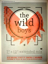 Duran duran wild boys poster 1