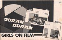 Girls on film song wikipedia duran duran advert rare