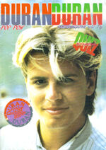 Pop pow duran duran poster magazine wikipedia discography collection