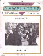 Duran duran newsletter