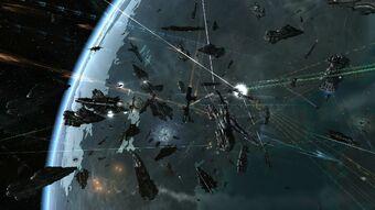 District Space Battle