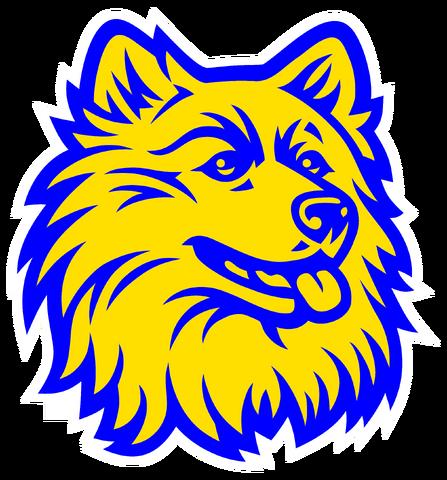 File:Dawson Huskies logo.png