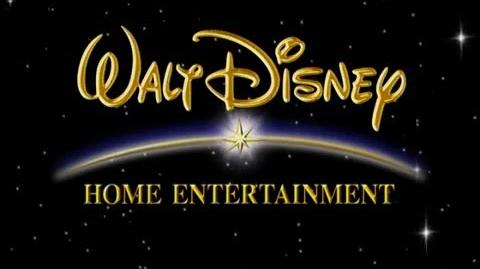 Walt Disney Home Entertainment (2001) Black Background (4x3)