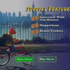 The Muppets Take Manhattan - Special Features Screenshot