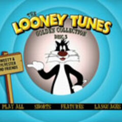 Looney Tunes Golden Collection: Volume Two - Disc 3 Main Menu Screenshot