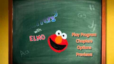 Learning Letters with Elmo transition menu