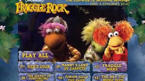 Fraggle Rock - Season 2 Disc 3 Main Menu (2013)