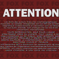 Attention (Spanish piracy warning)