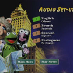 The Muppets Take Manhattan - Audio Set-Up Screenshot