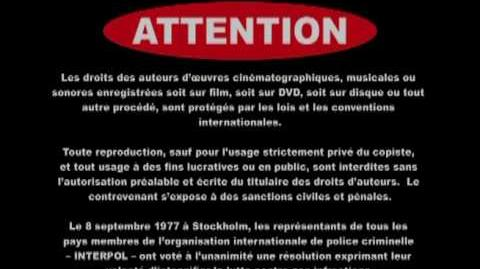 Spelbound DVD FBI Warnings
